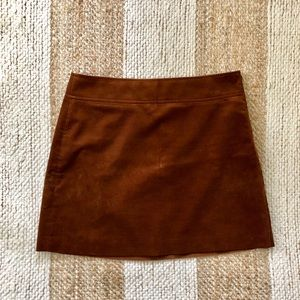 Brown corduroy J. Crew Factory skirt